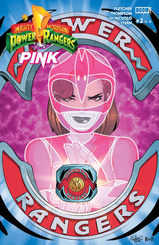 MIGHTY MORPHIN POWER RANGERS: PINK #2 (2016)