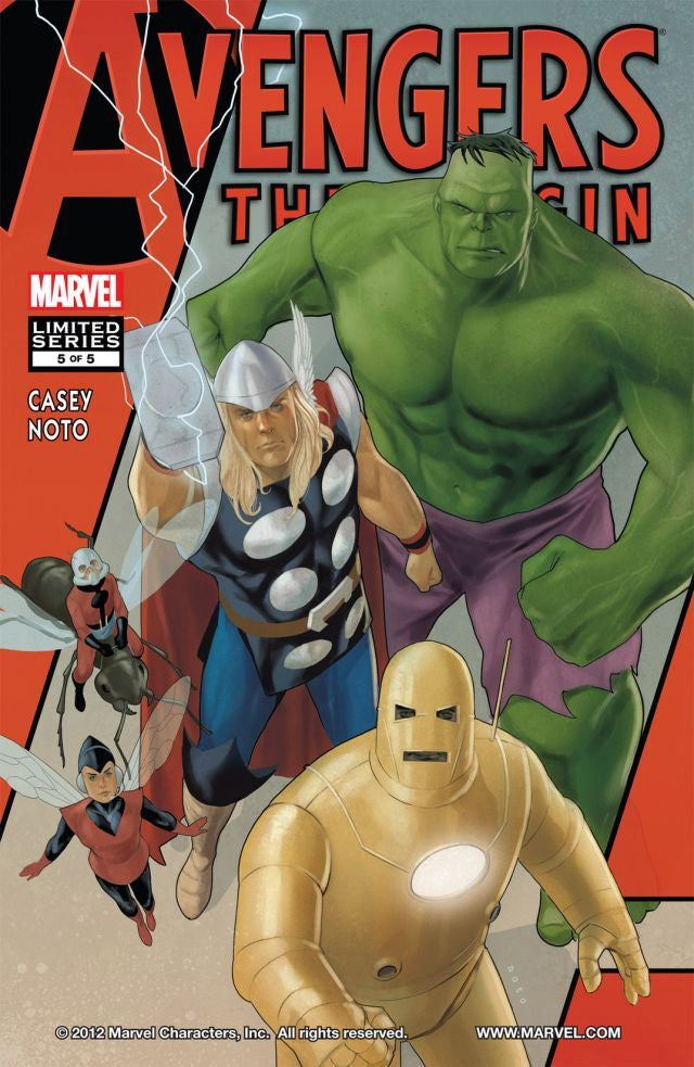 AVENGERS: THE ORIGIN #5 OF 5