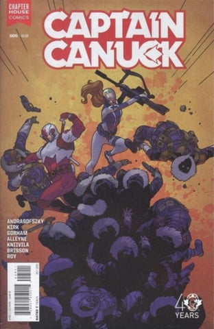 CAPTAIN CANUCK #5 VARIANT
