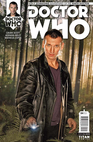 DOCTOR WHO: THE NINTH DOCTOR #4 PHOTO VARIANT