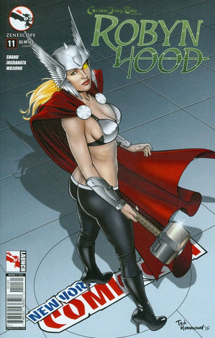GRIMM FAIRY TALES PRESENTS ROBYN HOOD #11 NYCC COSPLAY VARIANT