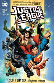 JUSTICE LEAGUE VOL.1: THE TOTALITY (REBIRTH)