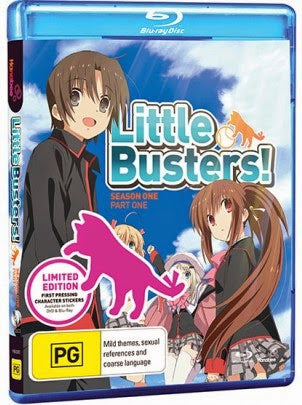 LITTLE BUSTERS! SEASON ONE PART ONE - LIMITED EDITION B/RAY