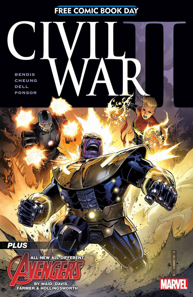 CIVIL WAR II FCBD ISSUE