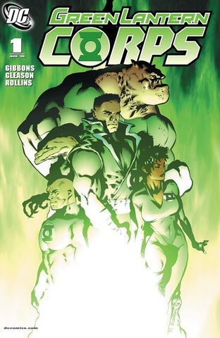 GREEN LANTERN CORPS (2008) #1-#6 BUNDLE