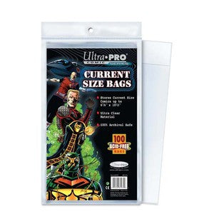 ULTRA PRO Comic Accessories - Current Size Bags