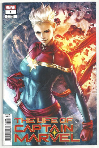 THE LIFE OF CAPTAIN MARVEL (2018) #1 ARTGERM VARIANT
