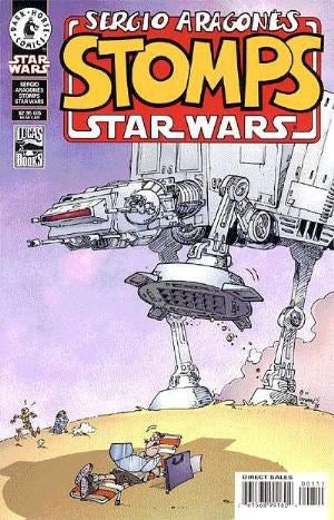 SERGIO ARAGONES STOMPS STAR WARS #1