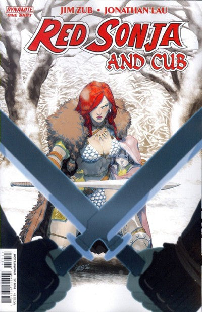 RED SONJA AND CUB - ONE SHOT