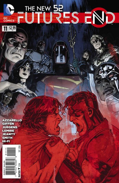 NEW 52, THE: FUTURES END #11