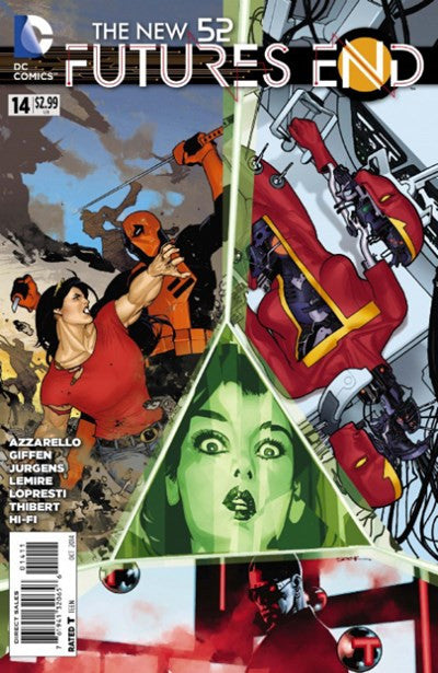 THE NEW 52 FUTURES END #14
