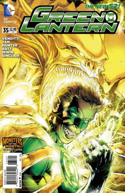 GREEN LANTERN #35 MONSTER MONTH VARIANT