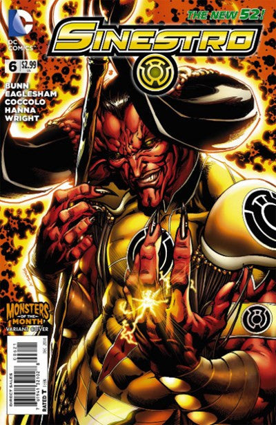 SINESTRO #6 MONSTER MONTH VARIANT