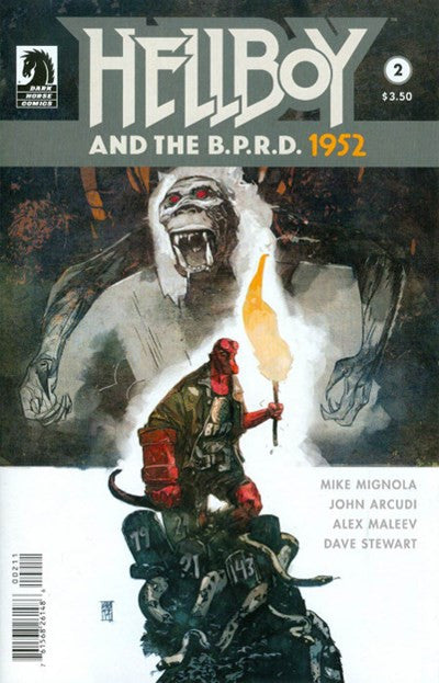 HELLBOY AND THE B.P.R.D. 1952 #2