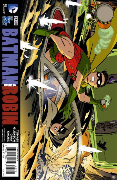 BATMAN AND ROBIN #37 DARWYN COOKE VARIANT