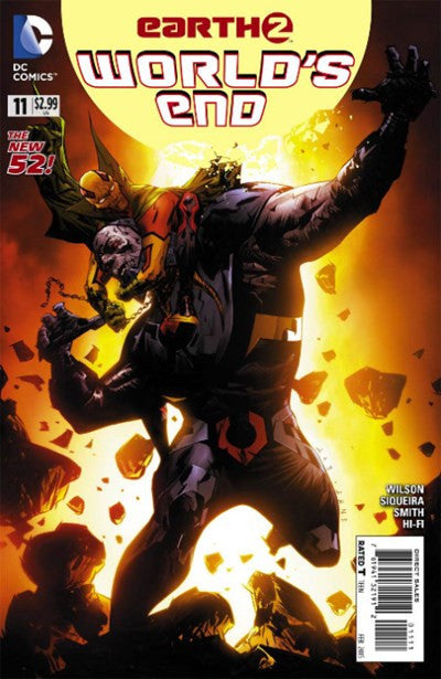 EARTH 2: WORLDS END #11