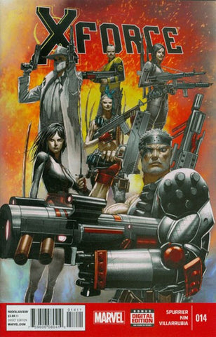 X-FORCE #14 VOLUME 4