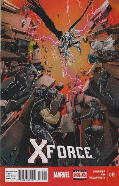X-FORCE #15 VOLUME 4