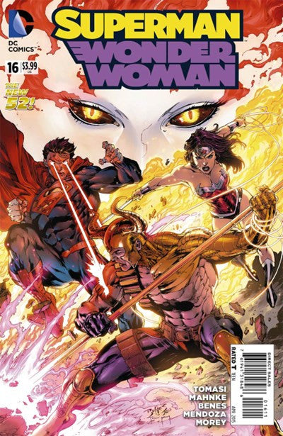 SUPERMAN/ WONDER WOMAN #16