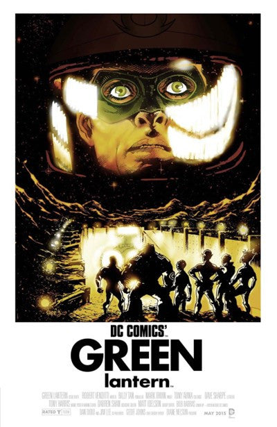 GREEN LANTERN #40 MOVIE POSTER VARIANT