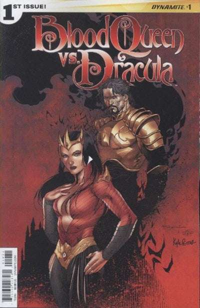 BLOOD QUEEN VS. DRACULA #1 VARIANT