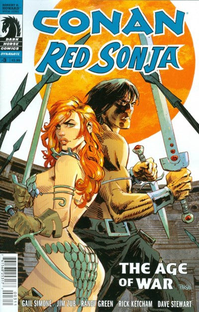 CONAN RED SONJA #3