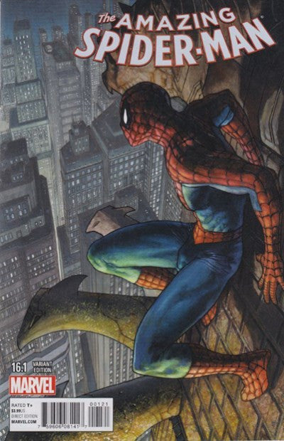 THE AMAZING SPIDER-MAN #16.1 Simone Bianchi Variant Cover