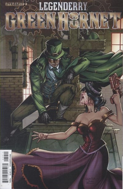 LEGENDERRY: GREEN HORNET #3