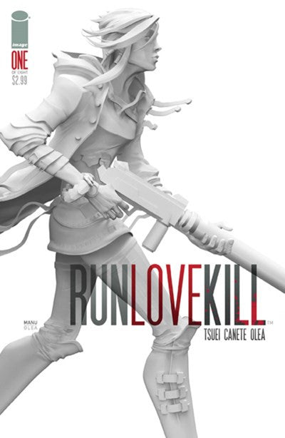 RUN LOVE KILL #1
