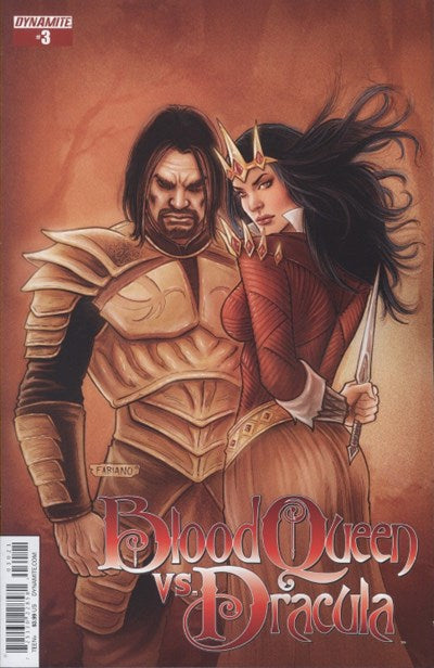 BLOOD QUEEN VS. DRACULA #3 VARIANT
