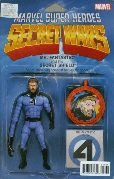 SECRET WARS JOURNAL #1 ACTION FIGURE VARIANT