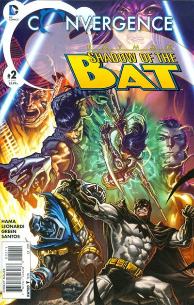CONVERGENCE BATMAN: SHADOW OF THE BAT #2