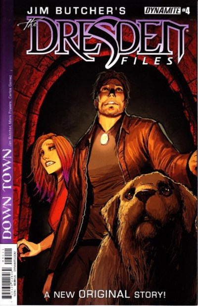 JIM BUTCHER'S THE DRESDEN FILES: DOWN TOWN #4