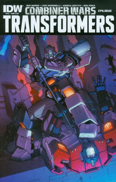 THE TRANSFORMERS #42 SUBSCRIPTION VARIANT