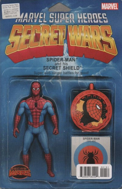 SECRET WARS: THE AMAZING SPIDER-MAN RENEW YOUR VOWS #1 ACTION FIGURE VARIANT