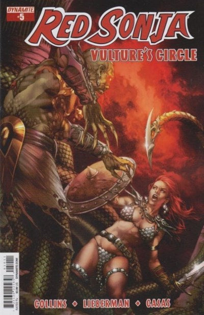 RED SONJA: VULTURE'S CIRCLE #5