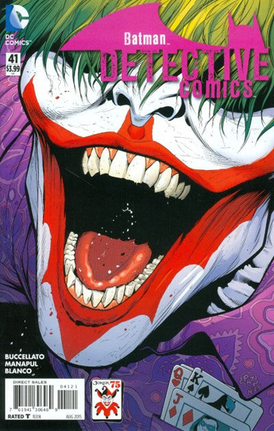 DETECTIVE COMICS #41 JOKER 75TH VARIANT