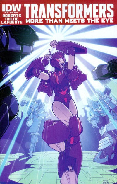 THE TRANSFORMERS: MORE THAN MEETS THE EYE #42 SUBSCRIPTION VARIANT