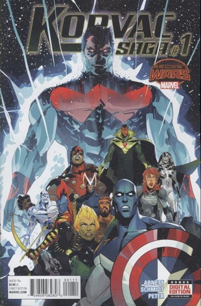 SECRET WARS: KORVAC SAGA #1