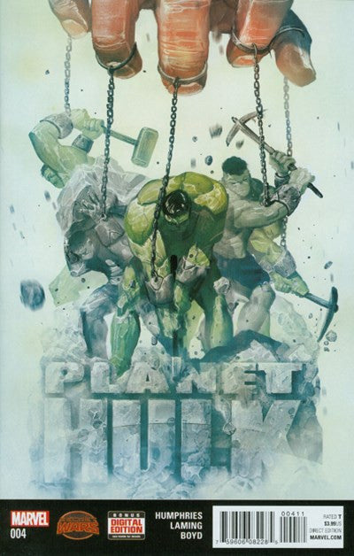SECRET WARS: PLANET HULK #4
