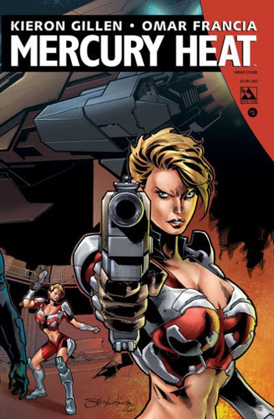 MERCURY HEAT #2 WRAP COVER VARIANT