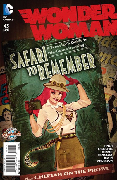 WONDER WOMAN #43 BOMBSHELL VARIANT
