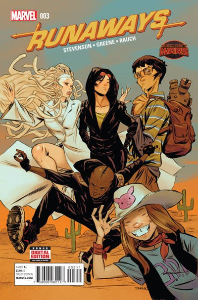 SECRET WARS: RUNAWAYS #3