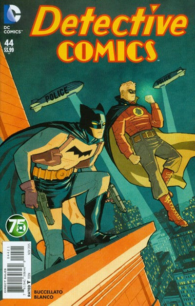 DETECTIVE COMICS (2011) #44 GREEN LANTERN 75TH  VARIANT
