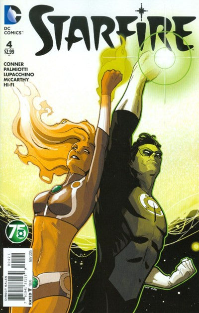 STARFIRE #4 GREEN LANTERN 75TH VARIANT