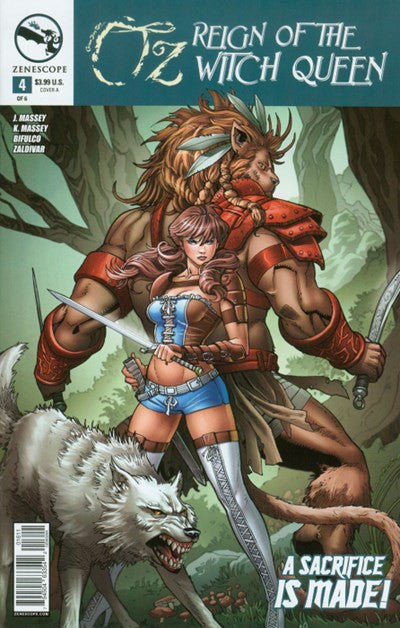 GRIMM FAIRY TALES PRESENTS - OZ: REIGN OF THE WITCH QUEEN #4