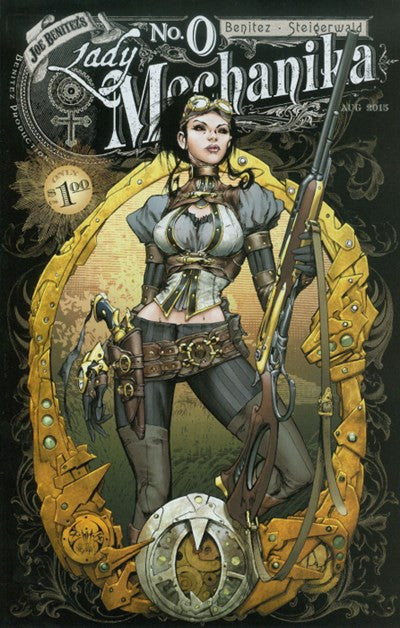 LADY MECHANIKA #0&1 COLLECTED EDITION