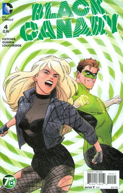 BLACK CANARY #4 GREEN LANTERN 75TH VARIANT