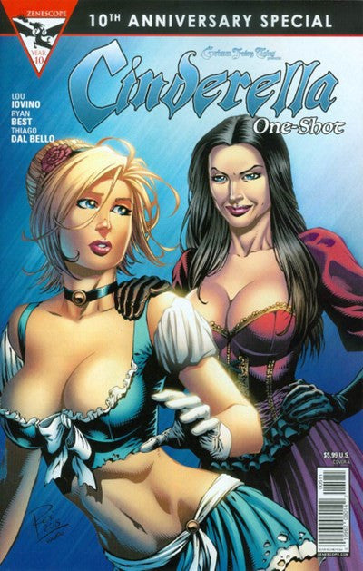 GRIMM FAIRY TALES PRESENTS CINDERELLA (10TH ANNIVERSARY SPECIAL) #1