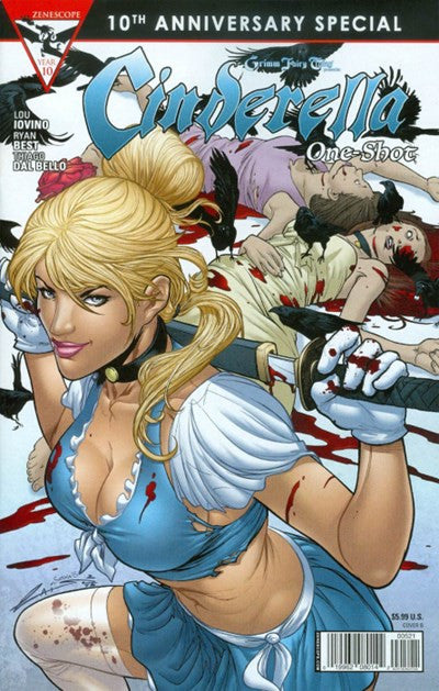 GRIMM FAIRY TALES: CINDERELLA 10TH ANNIVERSARY ONE-SHOT VARIANT B